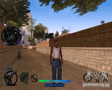 C-HUD by Vadya для GTA San Andreas