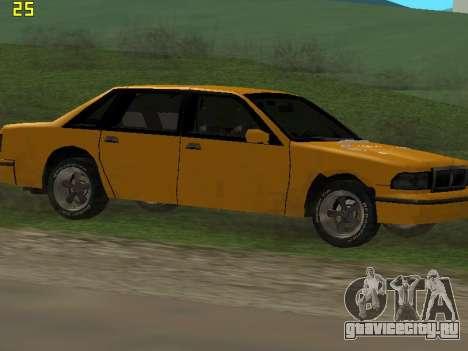 Premier 2012 для GTA San Andreas вид снизу