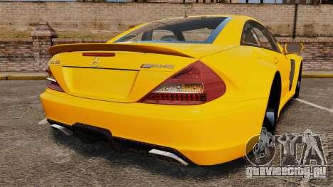 Mercedes-Benz SL65 AMG для GTA 4 вид сзади слева