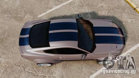 Ford Mustang 2015 Rocket Bunny TKF v2.0 для GTA 4 вид справа