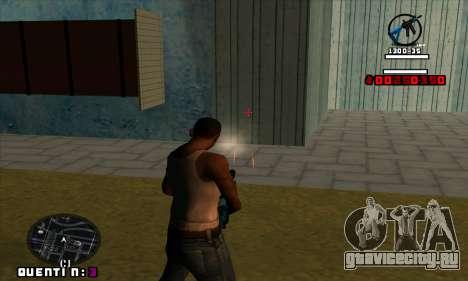 C-HUD Quentin для GTA San Andreas четвёртый скриншот