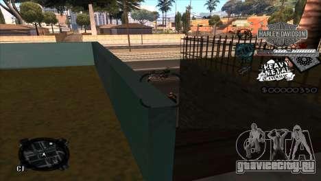 C-Hud Heavy Metal для GTA San Andreas третий скриншот