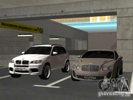 Bentley Continental Supersports для GTA San Andreas вид изнутри