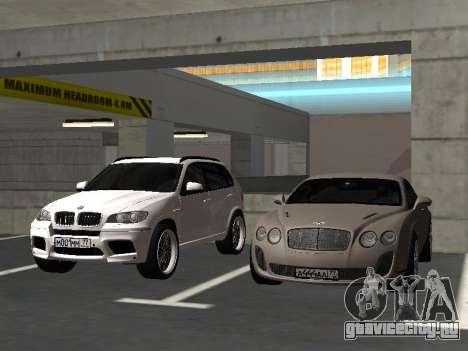 Bentley Continental Supersports для GTA San Andreas вид изнутри