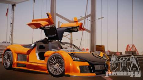 Gumpert Apollo Sport V10 для GTA San Andreas вид слева