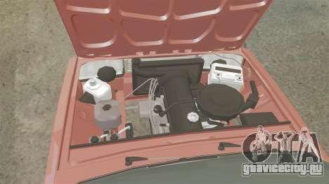ВАЗ-2107 Donk Style для GTA 4 вид изнутри