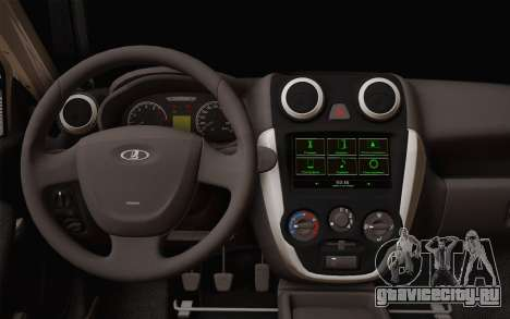 ВАЗ 2190 для GTA San Andreas вид справа