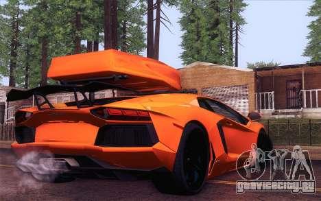 Lamborghini Aventador LP 700-4 для GTA San Andreas вид слева