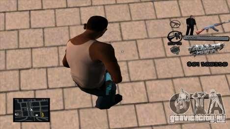 C-HUD Russian Mafia by Luigie для GTA San Andreas второй скриншот