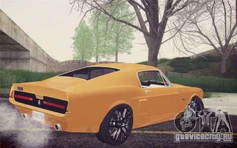 Equus Bass 770 для GTA San Andreas вид слева