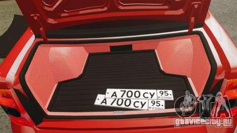 ВАЗ-2170 Dubai для GTA 4 вид сбоку