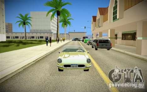 ENBSeries для слабых ПК для GTA San Andreas девятый скриншот