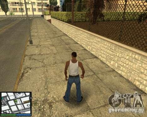 GTA V hud для GTA San Andreas третий скриншот