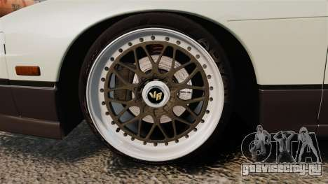 Nissan Onevia S13 [EPM] для GTA 4 вид сзади