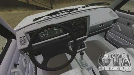 Volkswagen Rabbit GTI 1984 для GTA 4 вид сзади