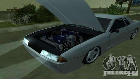 Elegy 280sx для GTA San Andreas салон