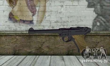LugerP08 для GTA San Andreas