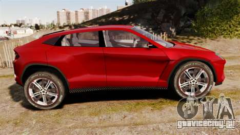 Lamborghini Urus LP840 2015 для GTA 4 вид слева