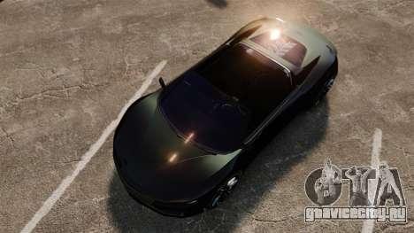 GTA V Dinka Jester [Redone] для GTA 4 вид справа