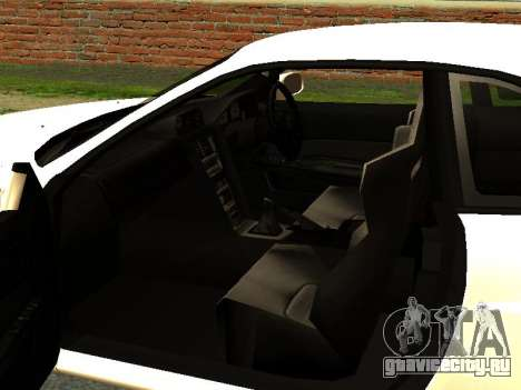 Nissan Skyline R34 GT-R для GTA San Andreas вид сзади