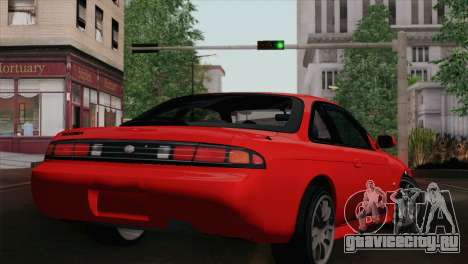 Nissan Silvia S14.5 для GTA San Andreas вид слева