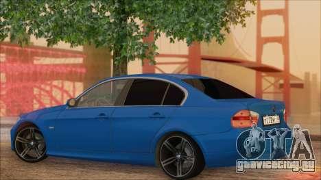 BMW 330i для GTA San Andreas вид слева