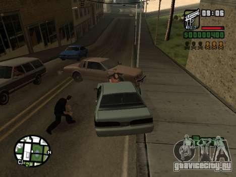 Кетчуп на капоте для GTA San Andreas четвёртый скриншот