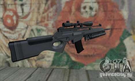 SG550 для GTA San Andreas второй скриншот