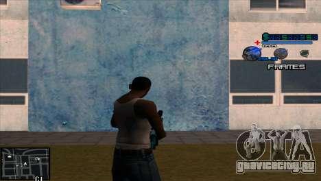 C-Hud Niko для GTA San Andreas второй скриншот