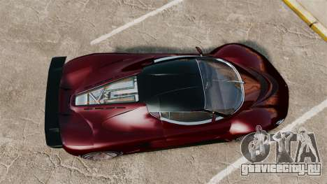 GTA V Grotti Turismo R v2.0 для GTA 4 вид справа