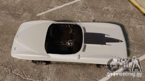 Chevrolet Corvette Stingray для GTA 4 вид справа