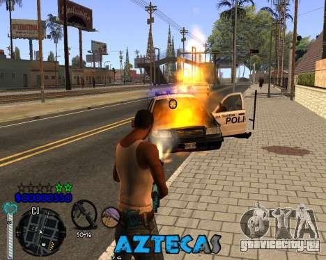 C-Hud by Abelardo для GTA San Andreas третий скриншот
