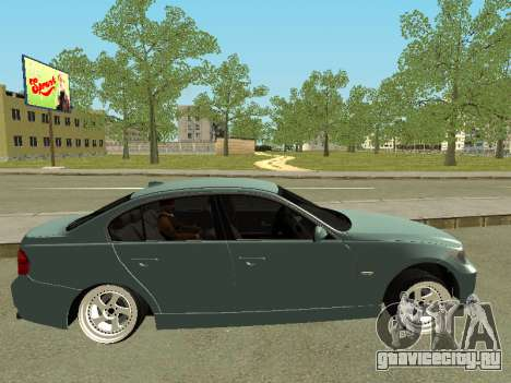 BMW M3 E90 для GTA San Andreas вид слева