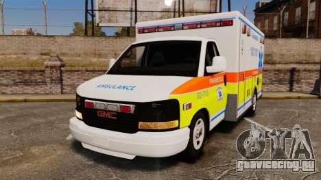 GMC Savana 2005 Ambulance [ELS] для GTA 4