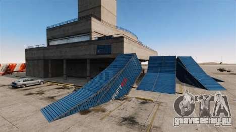 Трюк-парк в аэропорту для GTA 4 пятый скриншот