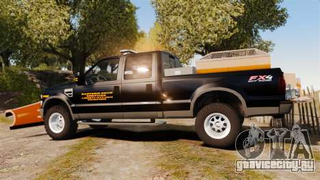 Ford F-250 Super Duty ESSL [ELS] для GTA 4 вид слева
