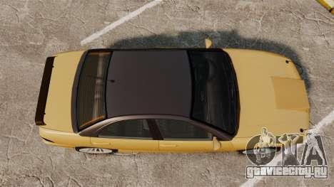 Chavos RSX v2.0 для GTA 4 вид справа
