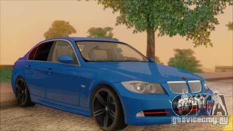 BMW 330i для GTA San Andreas вид сбоку