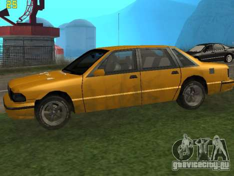 Premier 2012 для GTA San Andreas вид слева