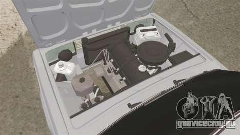 ВАЗ-2107 Жигули для GTA 4 вид сзади