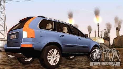Volvo XC90 2009 для GTA San Andreas вид сзади слева