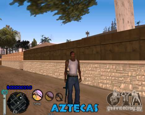 C-Hud by Abelardo для GTA San Andreas