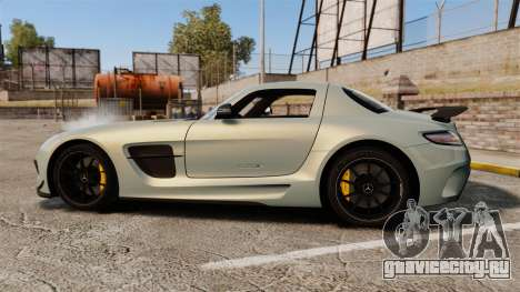 Mercedes-Benz SLS 2014 AMG Black Series для GTA 4 вид слева