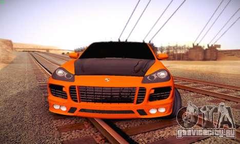 Porsche Cayenne для GTA San Andreas вид слева