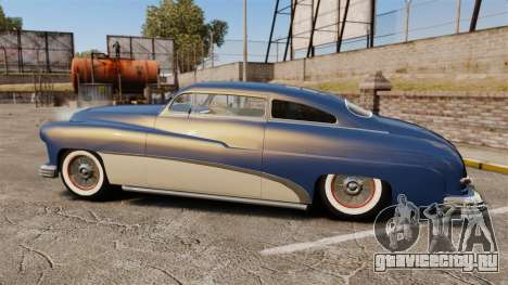 Mercury Lead Sled Custom 1949 для GTA 4 вид слева