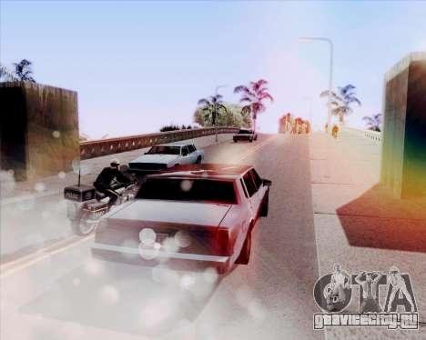 ENB HD CUDA 2014 v.3.5 Final для GTA San Andreas четвёртый скриншот