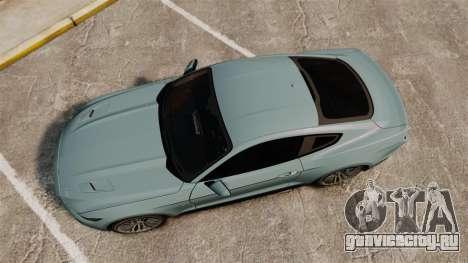 Ford Mustang GT 2015 v2.0 для GTA 4 вид справа