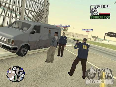 SA-MP 0.3z для GTA San Andreas девятый скриншот