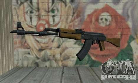 AK47 из L4D для GTA San Andreas