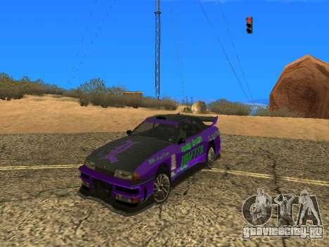 Винилы Luni Team для Elegy для GTA San Andreas вид справа